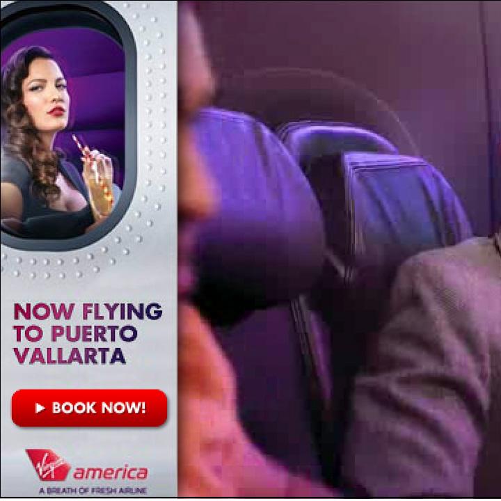 Virgin America Auto Overlay