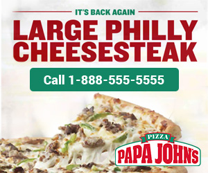 Papa Johns Pizza – Click to Call