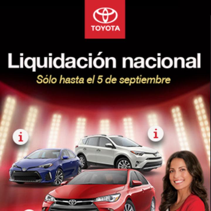 Toyota Liquidacion nacional